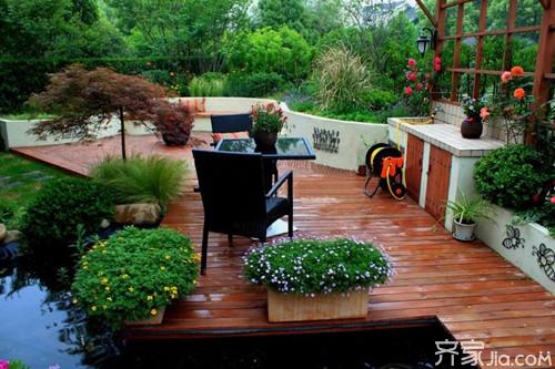 别墅花园庭院施工流程及
