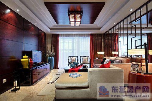 铭大装饰详解别墅客厅中式风格吊顶装修原则