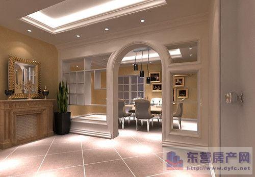 型图 厨房饭厅客厅隔断装修 最新客厅与餐厅隔断装修效果图