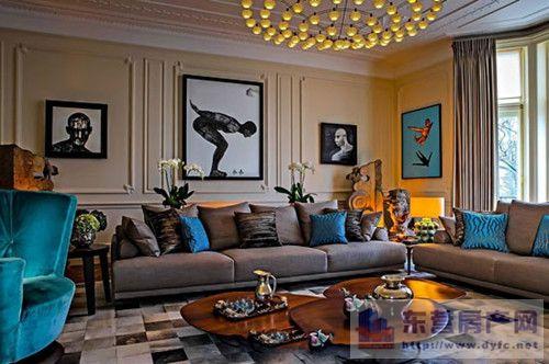 家居装修风格与瓷砖的搭配五:田园风格