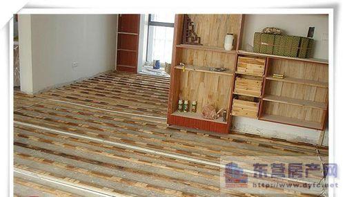 实木地板安装方法二,龙骨铺设法