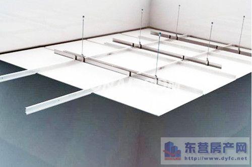 一般安装步骤:铝扣板吊顶安装流程主要由弹