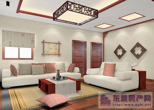 三:中式风格沙发茶几组合