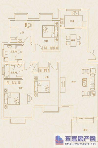 152房子结构图