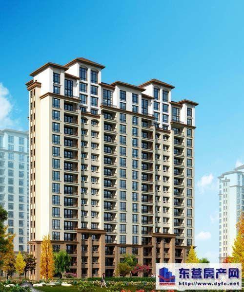 高层住宅效果图高清图片