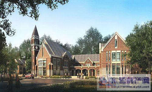 斜坡式的屋顶,特色英式烟囱,格栅小窗点缀的墙体,点滴细节成就英伦