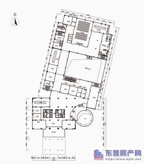 万达海港城 ab座写字楼户型平面图赏析