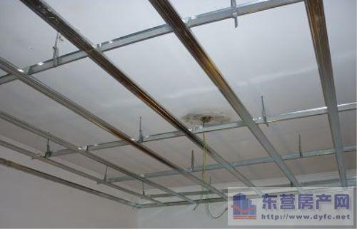 吊顶工艺 介绍轻钢龙骨石膏板吊顶施工工艺图片