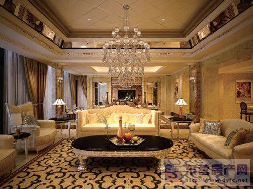 客厅沙发是新古典主义装修风格最重要的成员