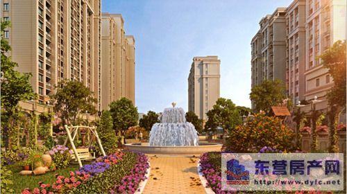 景观喷泉效果图-金宇都市公馆采风行① 选择诗意的生活