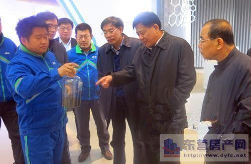 王秀华在东营港经济开发区调研经济发展图片