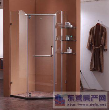 优质淋浴房板材常用的有钢化玻璃和ps