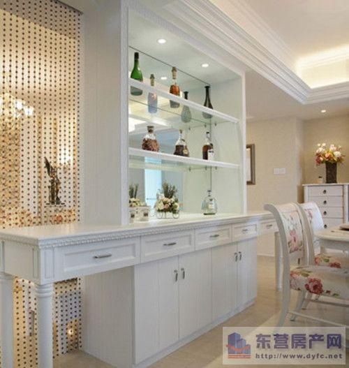 顾家装饰教你:餐厅与客厅酒柜隔断如何设计