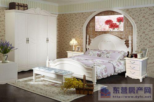 韩式田园风格的卧室搭配技巧 打造浪漫卧室图片