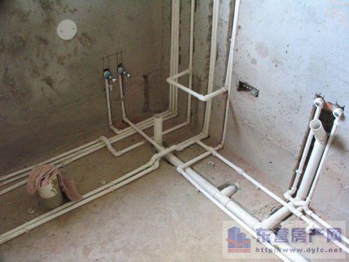 马桶,洗衣机等各出水口的位置