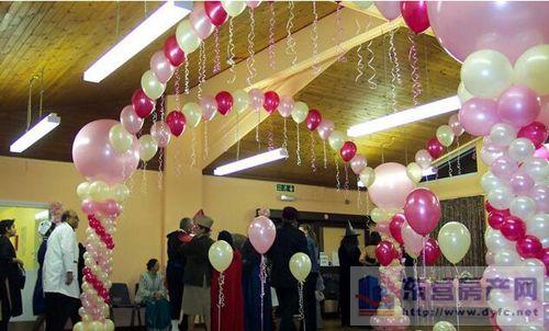 婚房客厅气球装饰:客厅气球装饰布置的方法