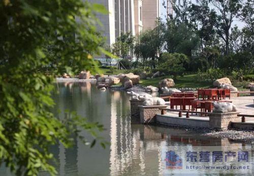 恒大黄河生态城欧式园林 打造都市桃源