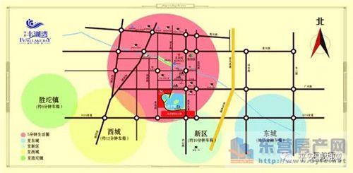 垦利新区规划图